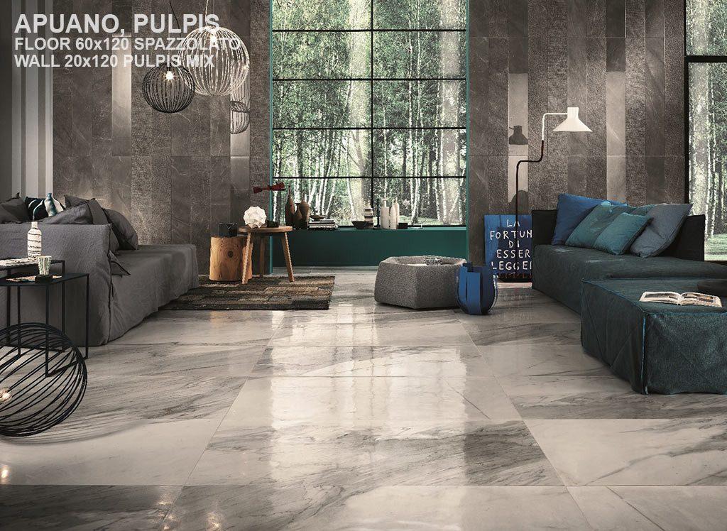 Italgraniti's Blanco Tile