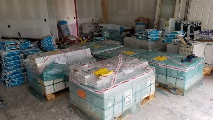 Flooring Delivery Image